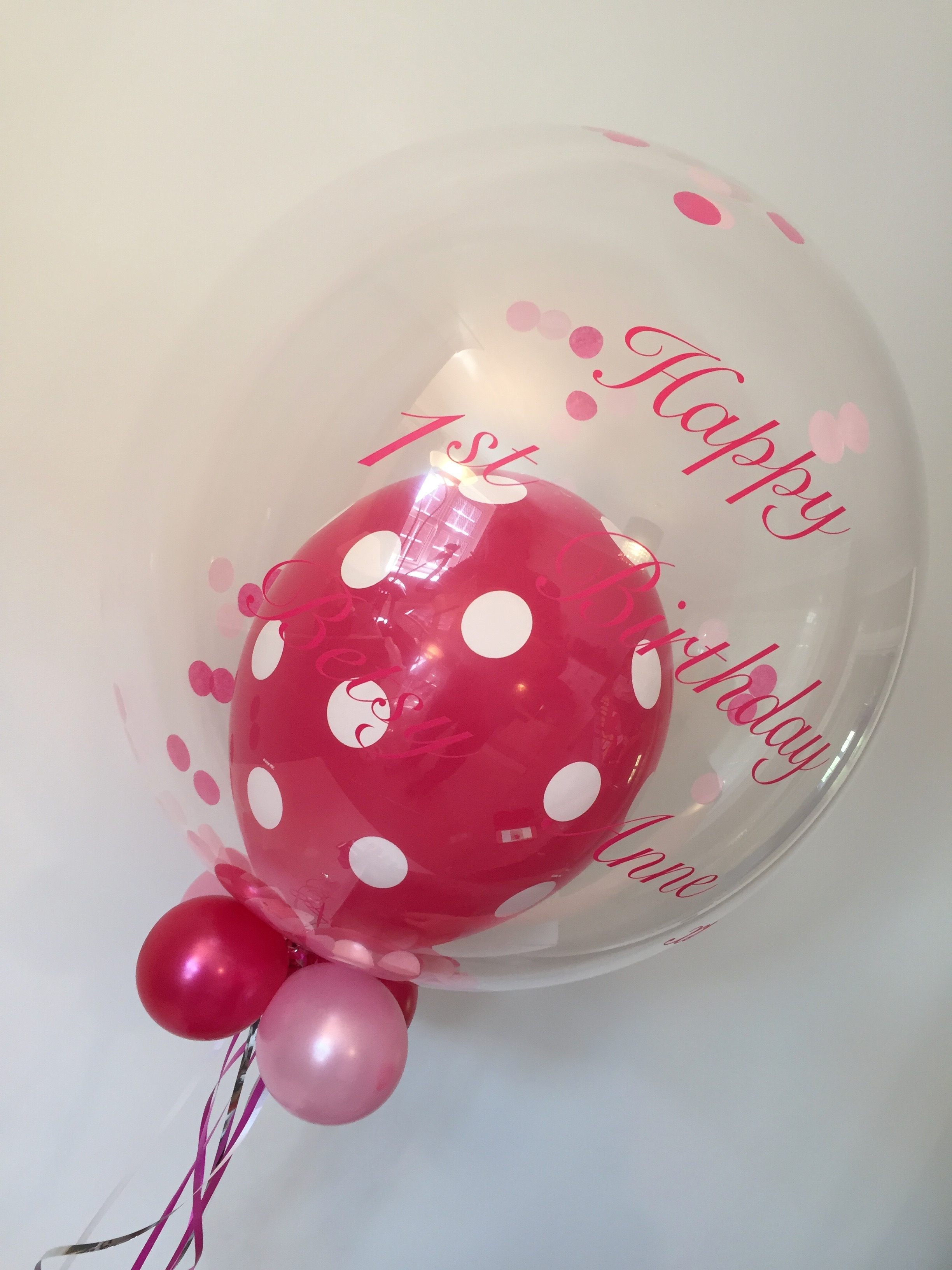 bubble personalised