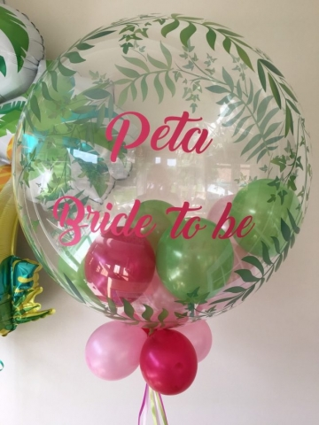 Personalised Hen Party bubble