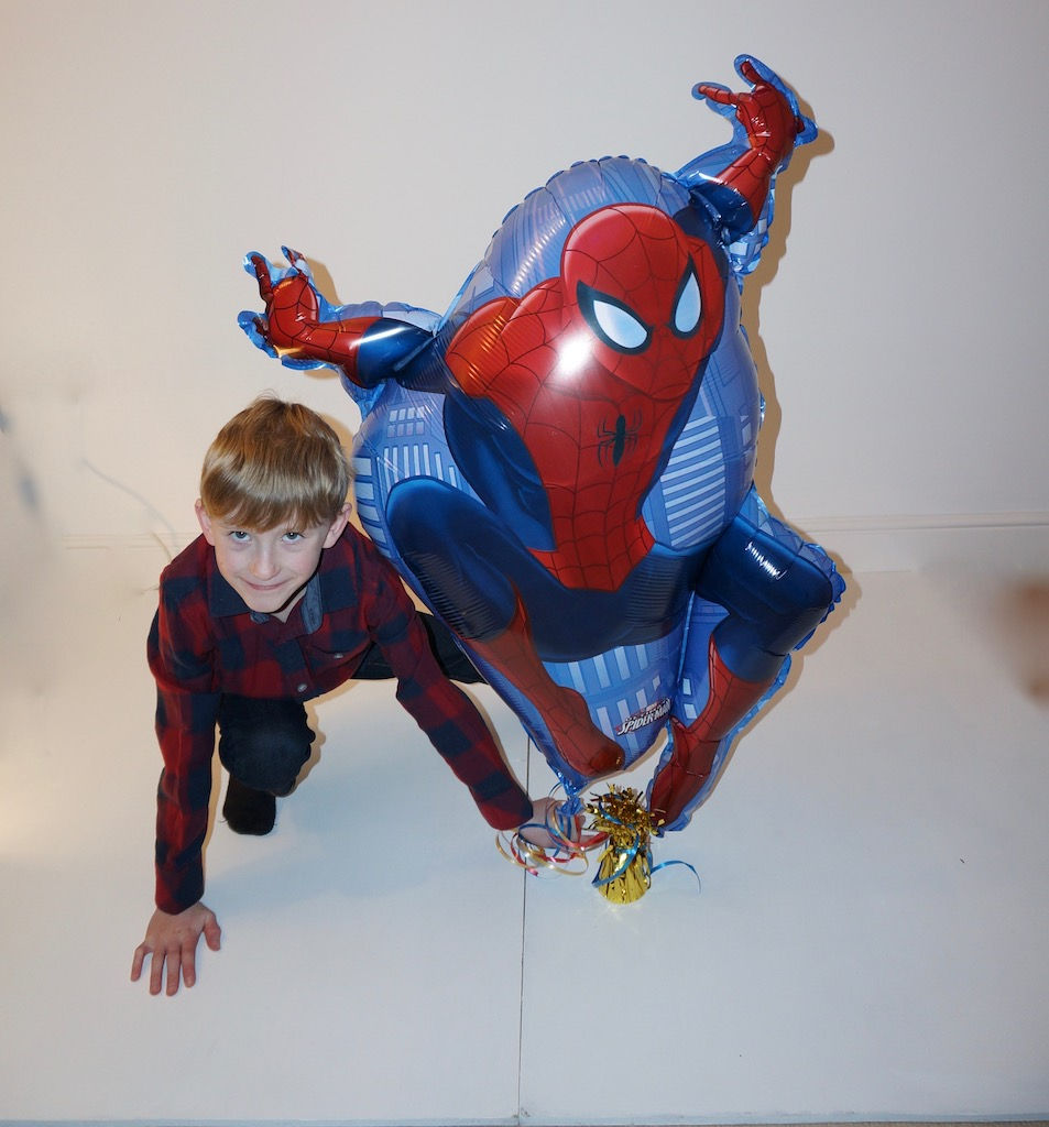 Spiderman shape
