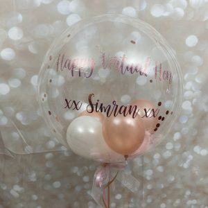 Hen party personalised bubble