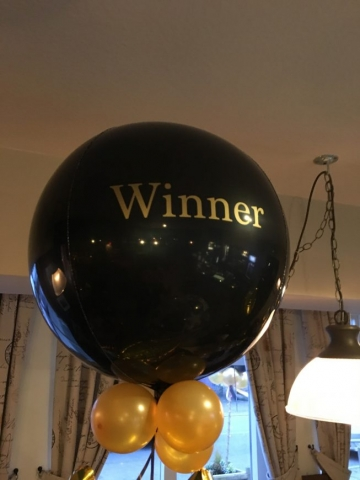 Black Orbz, winner, personalised