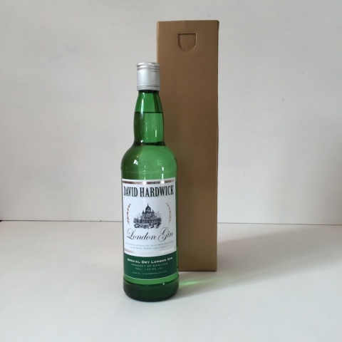 Personalised bottle gin gift