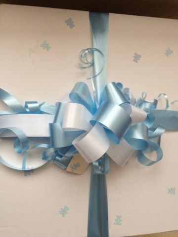 new bay gift box blue