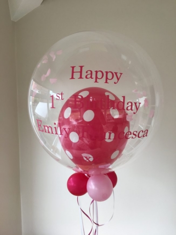 bubble, birthday pink