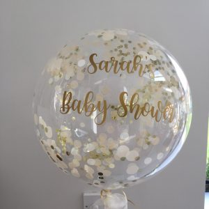 Baby shower Confetti bubble