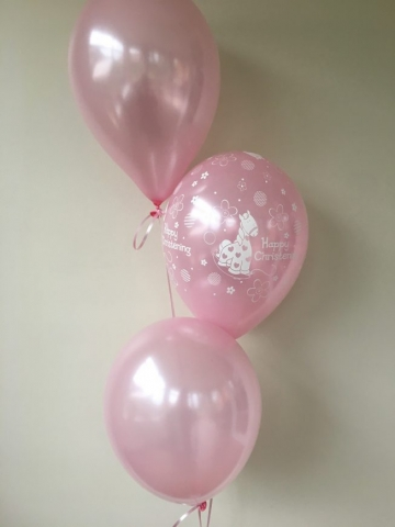 pale pink, cute pony, latex balloons