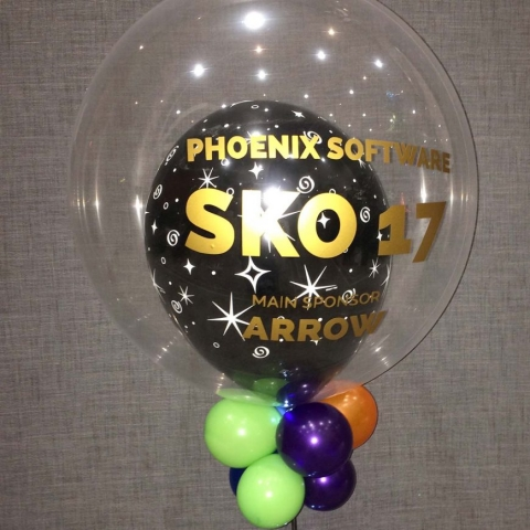 phoenix balloon bubble promotion